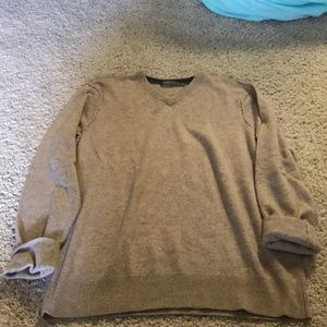 Tan Vince Crewneck Sweater
